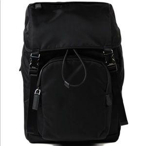 4713b283e673 Prada Bags | Tessuto Montagna Nero Nylon Backpack Nwot | Poshmark